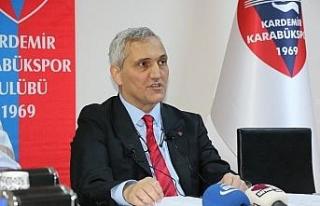 """Karabükspor Başkanı Yüksel: """"Transferi açabilmemiz..."""