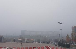 Karabük'te yoğun sis etkili oldu