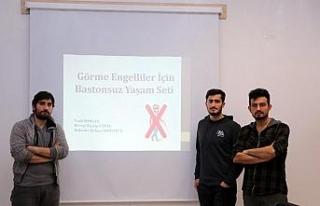 KBÜ öğrencilerinden engelleri kaldıran projeler