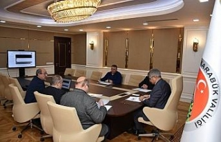 KEMOSB toplantısı Vali Gürel başkanlığında...