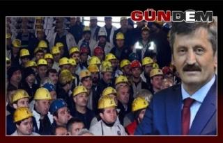 """""""Madenciler dünyanın en zor mesleğini yapıyor"""""""