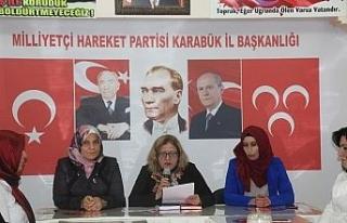 """MHP Kadın Kolları İl Başkanlığı'ndan """"Kadın..."""