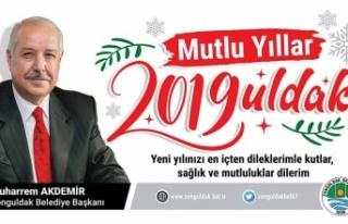 Muharrem AKDEMİR Yeni Yıl Mesajı!..