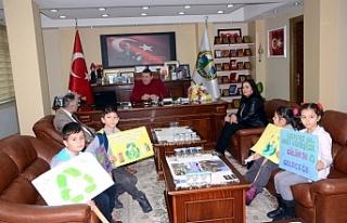Öğrenciler, Başkan Tekin'den destek istedi