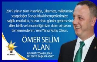 Ömer Selim ALAN Yeni Yıl Mesajı!..