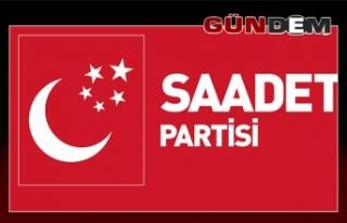 Saadet Partisi Çarşamba günü açıklıyor
