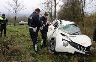 TEM Otoyolu'nda kaza: 3 yaralı