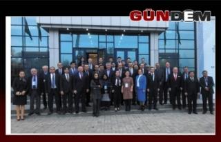 Türk heyetini, Keleş temsil etti!..