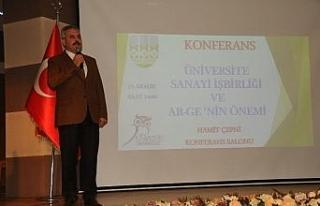 """""""Üniversite Sanayi İşbirliğinde ARGE nin önemi""""..."""