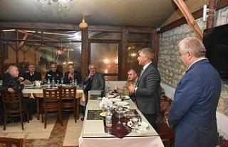 Vali Gürel, Safranbolu Mahalle ve Köy Muhtarlarıyla...