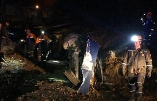 Zonguldak'ta feci kaza: 1 ağır 3 yaralı