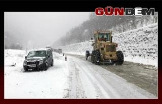 43 köy yolu ulaşıma kapalı