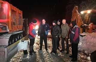 AFAD ekipleri, mahsur kalan vatandaşların yardımına...