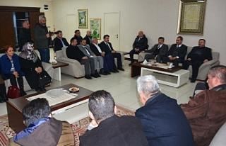 AK Parti ailesinden, Başkan Uysal'a ziyaret