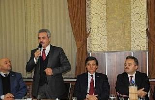 AK Parti, Mahalle ve Köy Muhtarlarının dertlerini...