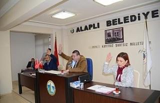 Belediye Meclisi yeni yılın ilk toplantısını...