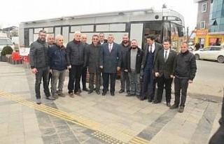 Başkan adayı Erdoğan Bıyık her yerde