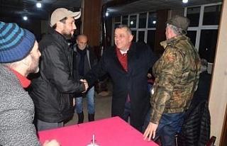 Başkan adayı Erdoğan Bıyık sanayi esnafını...