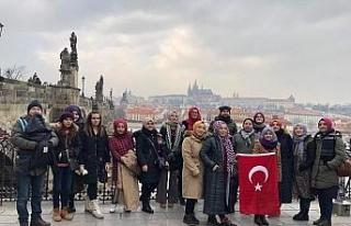 ÇPL öğrencileri Slovenya'da eğitim aldılar
