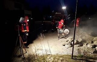 Düzce'de kurtarma ekipleri ortak tatbikat yaptı