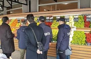 Düzce'de marketlerde fiyat farkı denetimleri başladı