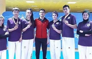 Düzceli 6 taekwondocu milli takımda