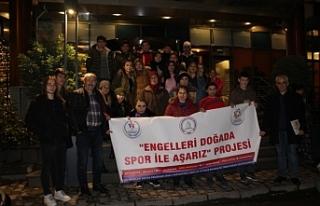 """""""Engelleri Doğada Spor ile Aşarız"""" Projesi"""