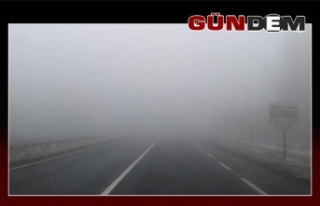 Zonguldak-Ereğli yolunda sis! Sürücüler dikkat!