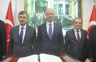 Filistin Ankara Büyükelçisinden Vali Bektaş'a...