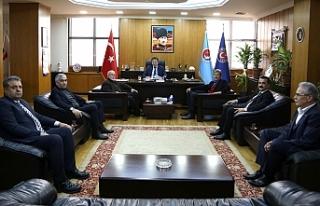 GMİS'ten TES-İŞ Genel Başkanı Akma'ya ziyaret