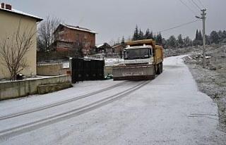 Karabük Belediyesi'nden don ve buzlanmaya karşı...