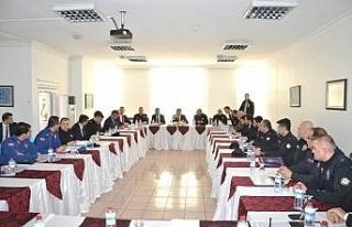 Karabük'te seçim güvenliği toplantısı
