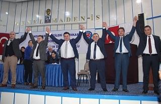 Karataş, Karadon Şube Başkanlığına yeniden seçildi
