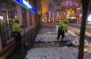 Karla mücadele başarıyla yürütüldü