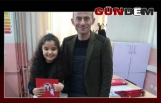 Köksal Toptan İlkokulunda karne sevinci!..