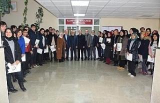 Lise öğencileri Düzce Üniversitesi'ni ziyaret...