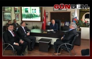 MHP GÜNÜ ODA ZİYARETLERİNE AYIRDI..