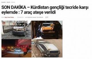 PKK'nın üstlendiği olayı eski sevgili gerçekleştirmiş