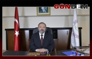 Rektör Çufalı, 10 Ocak Çalışan Gazeteciler Gününü...