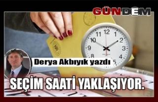SEÇİM SAATİ/AK PARTİ/CHP