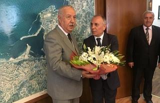 Şenol Şanal, Zonguldak Belediyesini ziyaret etti