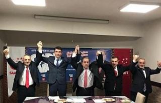 SP Safranbolu Belediye Başkan adayını tanıttı