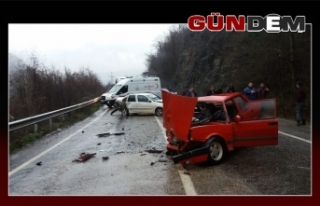 Kaza...7 kişi Yaralı