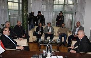 Zeytinoğlu, DTSO'yu ziyaret etti