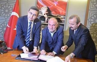Zonguldak'ta Z-Kütüphane protokolü imzalandı