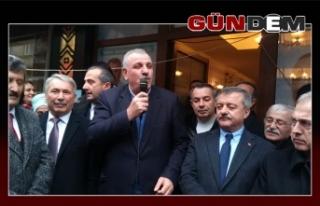 AK Parti Kozlu seçim bürosu açılışı yapıldı