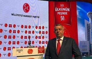 Başkan Adayı Erdoğan Bıyık kutlamalara katıldı