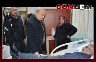 Celil Uzun, hastaları unutmadı