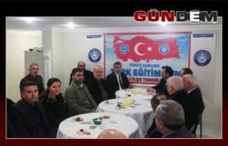 Celil Uzun Türk Eğitim-Sen'i ziyaret etti