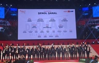 CHP adaylarını tanıttı, Zonguldak ekibi tam kadro...